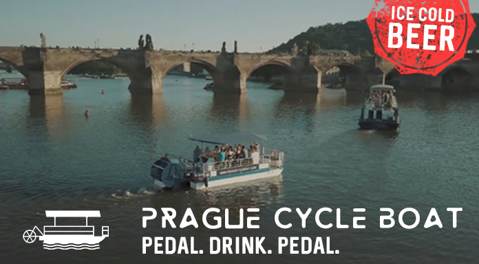 Prague Cycle Boat: Unlimited Beer