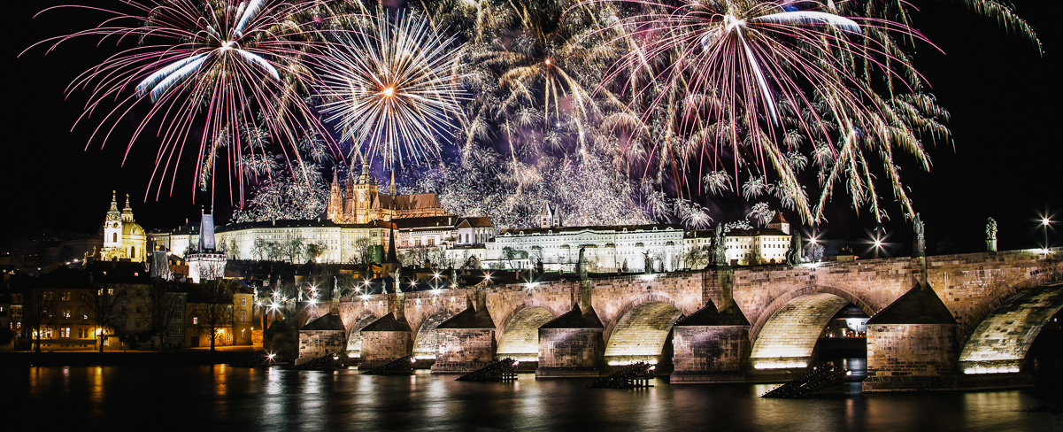New Year Party in Prague