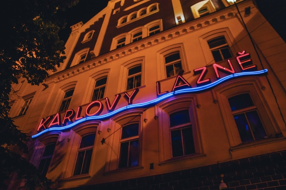 Exterior of Karlovy Lazne, Central Europe's Largest Club